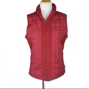 Columbia Red Vest Jacket Size Medium